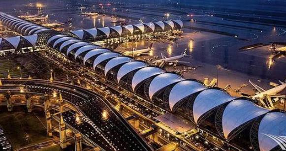 泰国机场建造了46年,慢工出细活?网友:大部分都是中国旅客 ... 泰国,泰国机场,机场,建造,网友 第2张图片