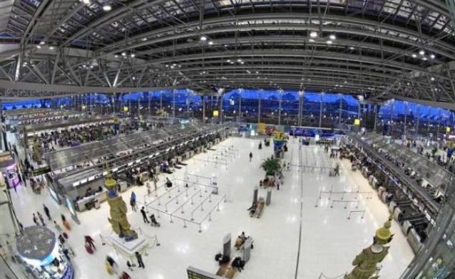 泰国机场建造了46年,慢工出细活?网友:大部分都是中国旅客 ... 泰国,泰国机场,机场,建造,网友 第3张图片