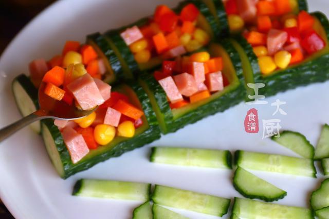 彩色午餐黄瓜拼盘的家常做法,马上过年了,学会年夜饭露一手 ... 彩色,午餐,黄瓜,拼盘,家常 第12张图片