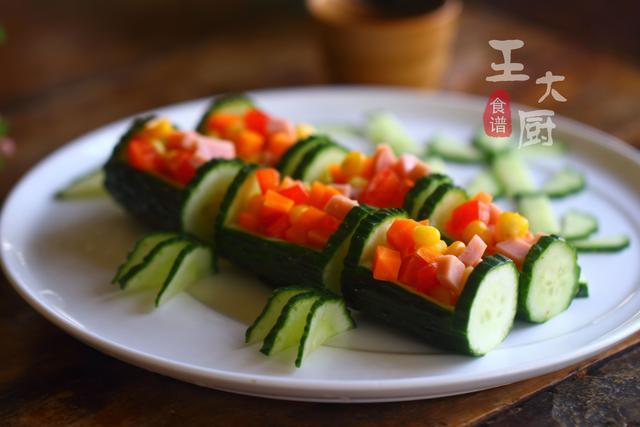 彩色午餐黄瓜拼盘的家常做法,马上过年了,学会年夜饭露一手 ... 彩色,午餐,黄瓜,拼盘,家常 第13张图片
