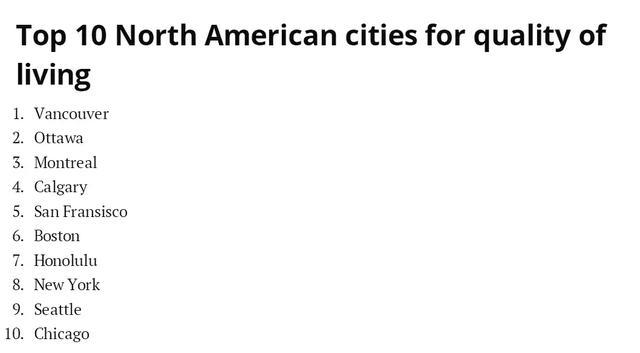 傲娇!温哥华生活质量全球第三,加拿大人健康指数全球第一! ... 来源,拔得头筹,傲娇,温哥华 第2张图片