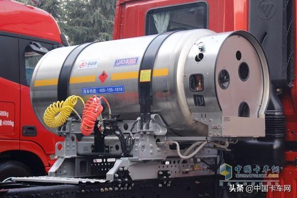 同样是燃气重卡,世峰物流为何点赞欧曼2019款LNG重卡 蓝天,关键,同样,燃气 第5张图片