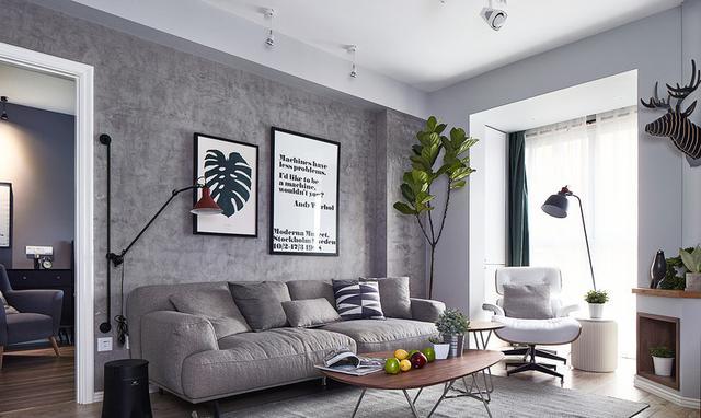 83平米的房子装修只花了8万,现代风格让人眼前一亮!-和谐家园装修 ... 现代风格,眼前一亮,装修,房子,房子装修 第1张图片