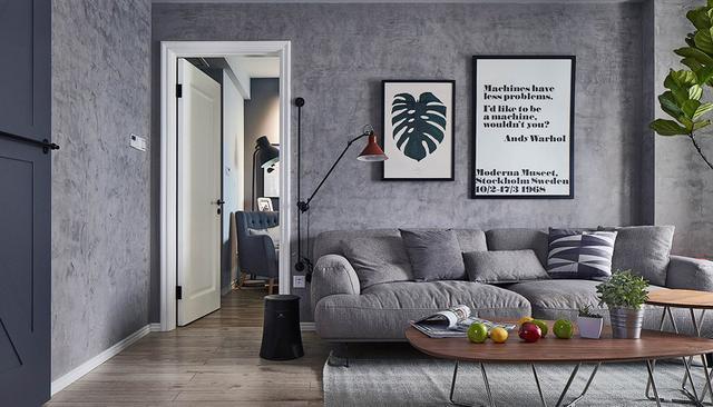 83平米的房子装修只花了8万,现代风格让人眼前一亮!-和谐家园装修 ... 现代风格,眼前一亮,装修,房子,房子装修 第3张图片