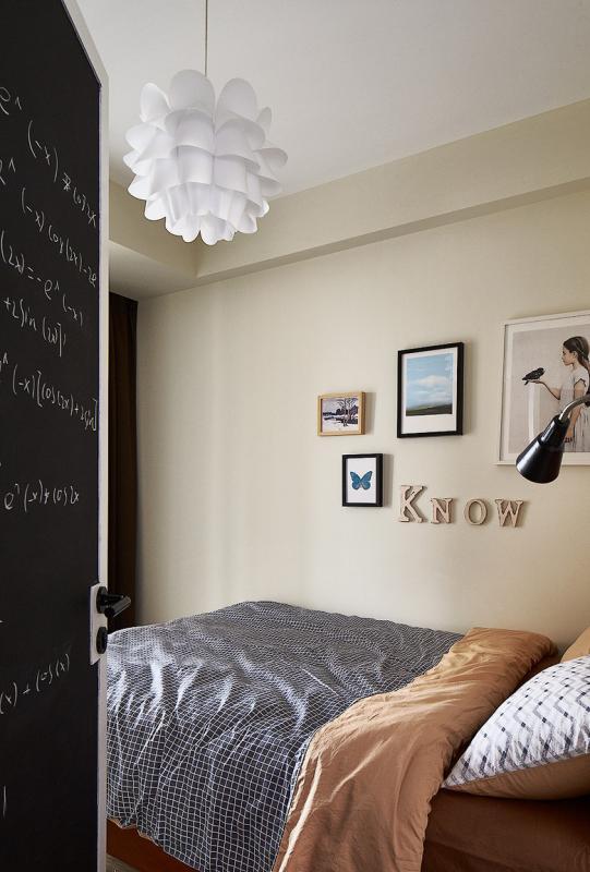83平米的房子装修只花了8万,现代风格让人眼前一亮!-和谐家园装修 ... 现代风格,眼前一亮,装修,房子,房子装修 第4张图片