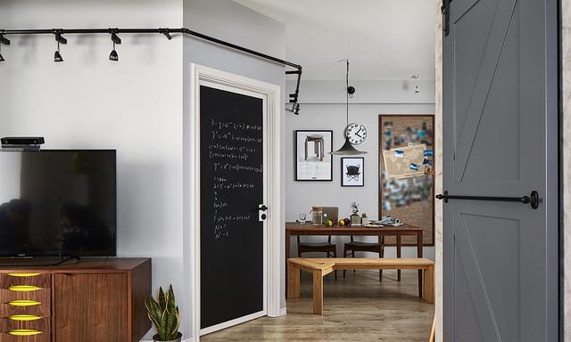 83平米的房子装修只花了8万,现代风格让人眼前一亮!-和谐家园装修 ... 现代风格,眼前一亮,装修,房子,房子装修 第9张图片