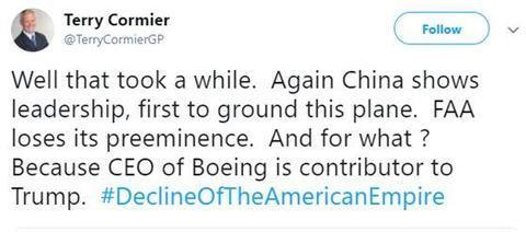 川普宣布停飞,美网友:终于,美国追随了中国的脚步! 川普,宣布,停飞,美网,网友 第3张图片