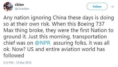 川普宣布停飞,美网友:终于,美国追随了中国的脚步! 川普,宣布,停飞,美网,网友 第6张图片