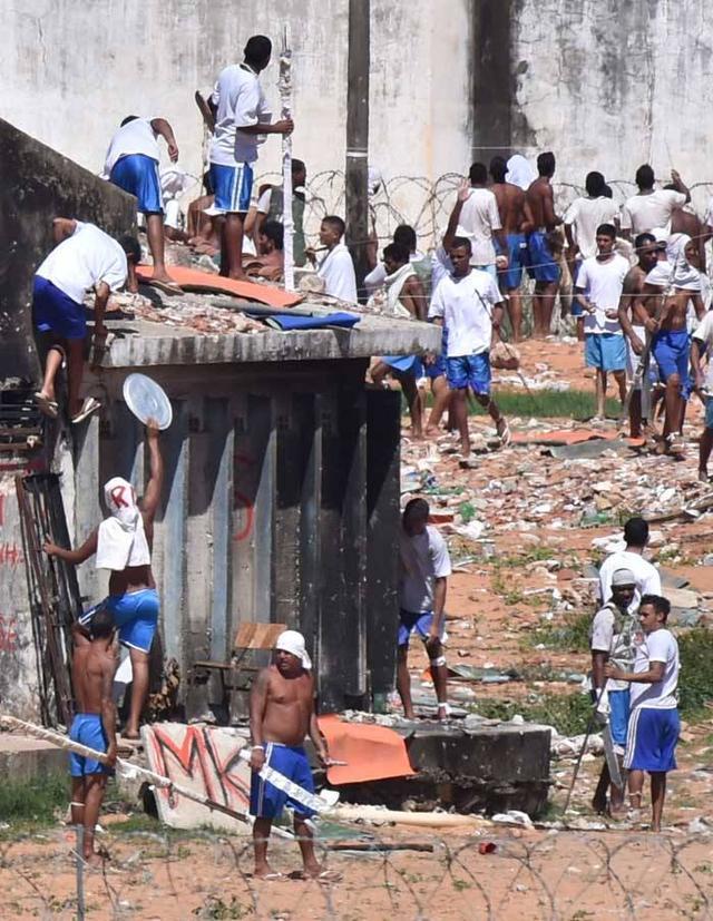 """巴西的""""暴力监狱""""让人大开眼界,米帅进去都不想""""越狱""""了 ... 巴西,暴力,暴力监狱,监狱,人大 第4张图片"""