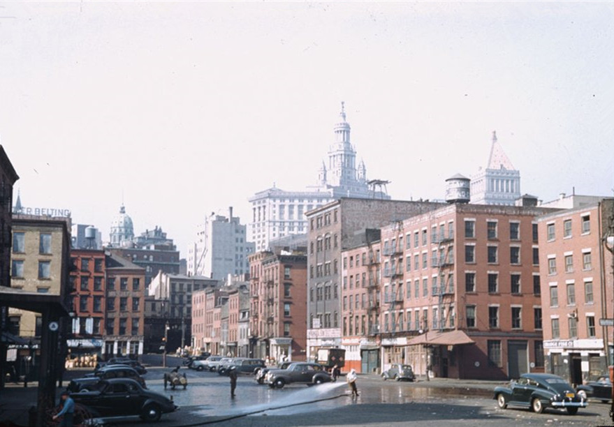 这是40年代初的美国纽约,这是二战时期的纽约 海外华人,唐人街,中国城,这是,年代 第1张图片