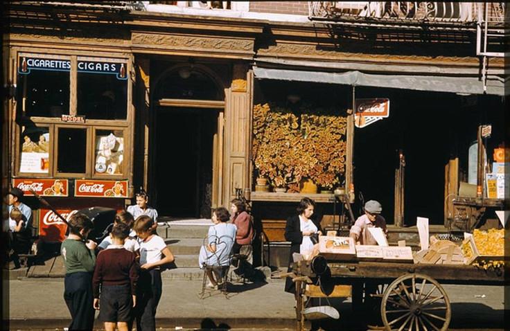这是40年代初的美国纽约,这是二战时期的纽约 海外华人,唐人街,中国城,这是,年代 第5张图片