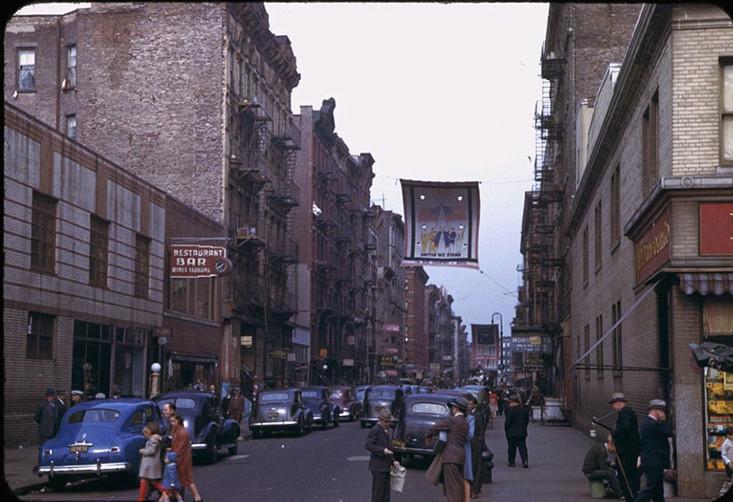 这是40年代初的美国纽约,这是二战时期的纽约 海外华人,唐人街,中国城,这是,年代 第9张图片