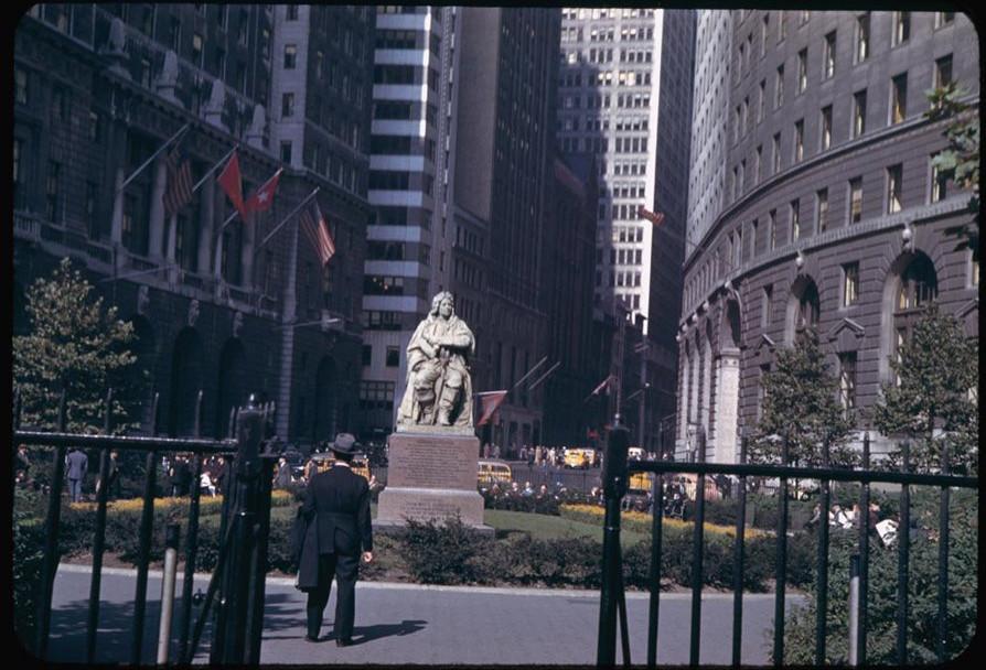 这是40年代初的美国纽约,这是二战时期的纽约 海外华人,唐人街,中国城,这是,年代 第10张图片