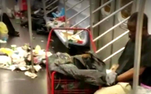 纽约地铁一视频引发众怒,破口大骂!美国人:不选中国地铁的后果 ... 纽约,纽约地铁,地铁,视频,引发 第2张图片