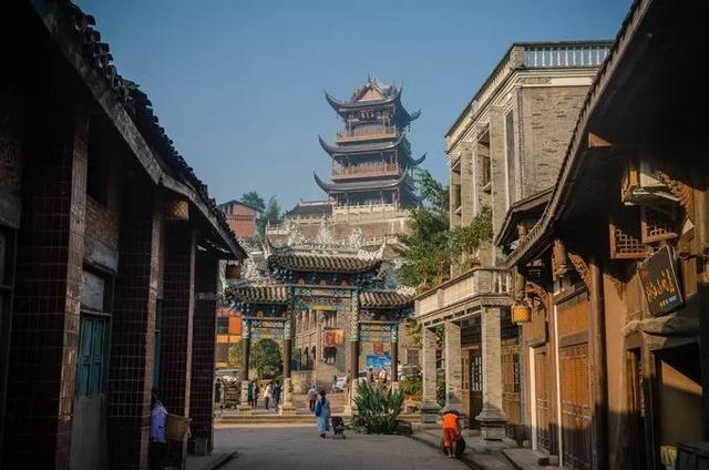 重庆,值得去的12个古镇 重庆,值得,喧嚣,都市,久了 第9张图片