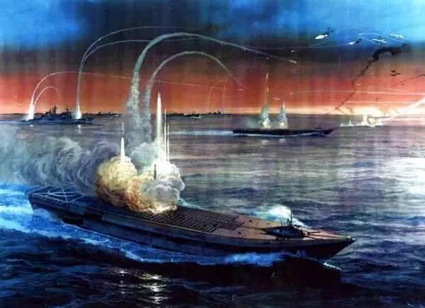 载500枚导弹的武库舰来了!可与敌对攻 助中国航母编队闯荡全球 ... 中国版武库舰,航母战斗群,空警,武库,敌对 第5张图片