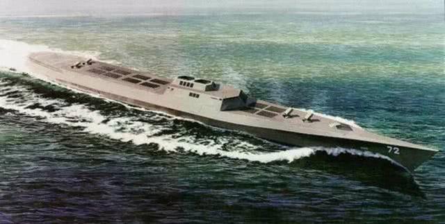 载500枚导弹的武库舰来了!可与敌对攻 助中国航母编队闯荡全球 ... 中国版武库舰,航母战斗群,空警,武库,敌对 第3张图片