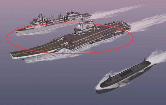 载500枚导弹的武库舰来了!可与敌对攻 助中国航母编队闯荡全球 ... 中国版武库舰,航母战斗群,空警,武库,敌对 第4张图片