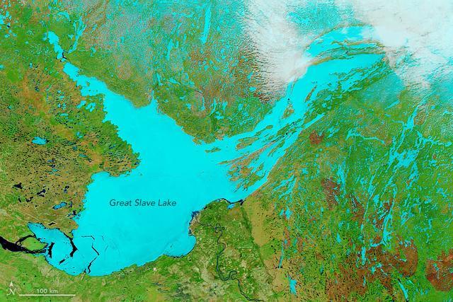 深度相当世界第二高楼上海中心大厦,北美最深湖泊突变,水位下降 ... 发现,湖泊,自然湖泊,深度,相当 第2张图片