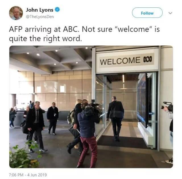 """成天黑中国的澳大利亚大媒体,刚被澳大利亚政府""""抄家""""了 ... 成天,中国,中国的,澳大利亚,大媒体 第1张图片"""