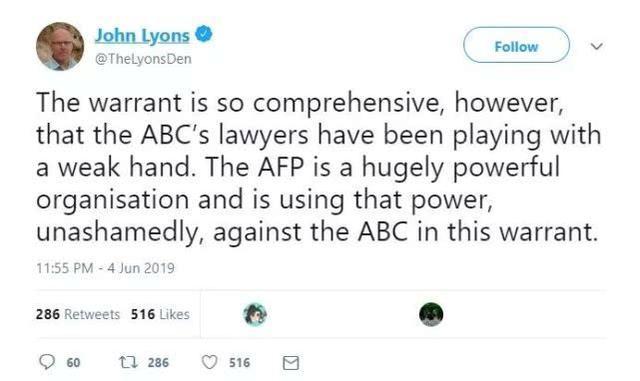 """成天黑中国的澳大利亚大媒体,刚被澳大利亚政府""""抄家""""了 ... 成天,中国,中国的,澳大利亚,大媒体 第3张图片"""
