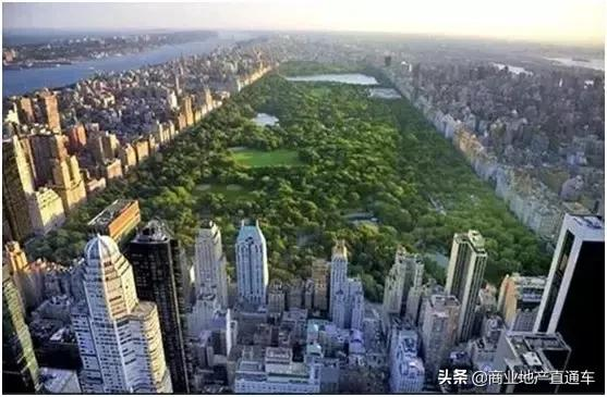 从高空看纽约中央公园,才知道美国城建规划多有远见 高空,纽约,纽约中央公园,中央,中央公园 第7张图片