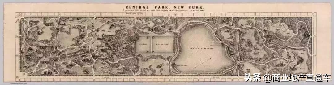 从高空看纽约中央公园,才知道美国城建规划多有远见 高空,纽约,纽约中央公园,中央,中央公园 第8张图片