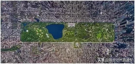 从高空看纽约中央公园,才知道美国城建规划多有远见 高空,纽约,纽约中央公园,中央,中央公园 第6张图片