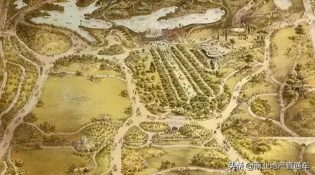 从高空看纽约中央公园,才知道美国城建规划多有远见 高空,纽约,纽约中央公园,中央,中央公园 第13张图片