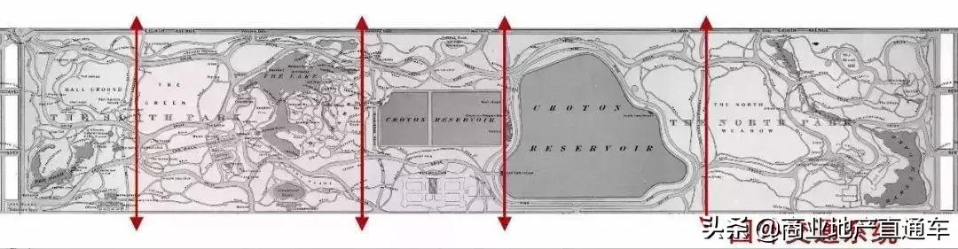 从高空看纽约中央公园,才知道美国城建规划多有远见 高空,纽约,纽约中央公园,中央,中央公园 第10张图片
