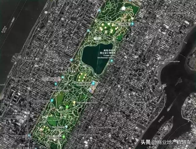 从高空看纽约中央公园,才知道美国城建规划多有远见 高空,纽约,纽约中央公园,中央,中央公园 第27张图片
