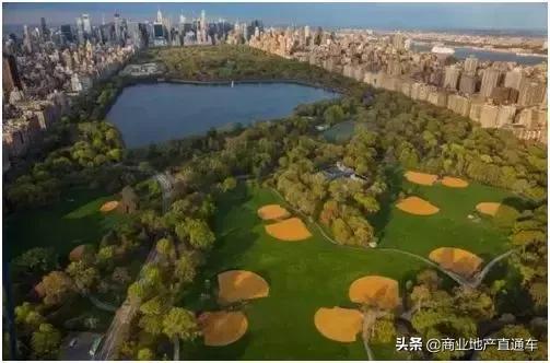 从高空看纽约中央公园,才知道美国城建规划多有远见 高空,纽约,纽约中央公园,中央,中央公园 第23张图片