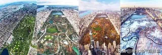 从高空看纽约中央公园,才知道美国城建规划多有远见 高空,纽约,纽约中央公园,中央,中央公园 第28张图片