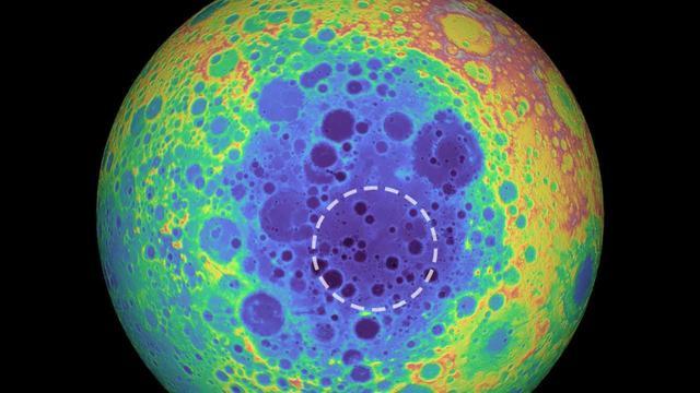 218亿亿公斤!月球地下300公里处发现神秘金属物,比夏威夷大5倍 ... 发现,詹姆斯,美国宇航局,公斤,月球 第1张图片