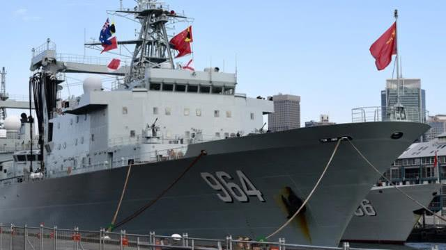 """三艘中国军舰""""突访""""悉尼令媒体吃惊,澳总理:正常回访 中国海军军舰,三艘,中国,军舰 第1张图片"""