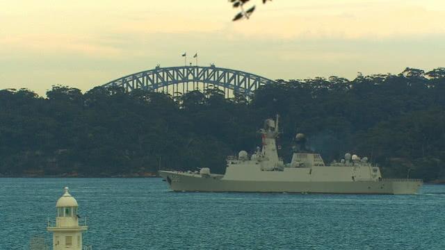 """三艘中国军舰""""突访""""悉尼令媒体吃惊,澳总理:正常回访 中国海军军舰,三艘,中国,军舰 第2张图片"""