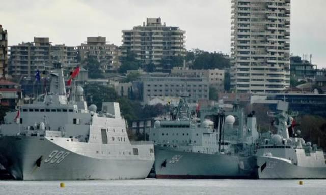 """三艘中国军舰""""突访""""悉尼令媒体吃惊,澳总理:正常回访 中国海军军舰,三艘,中国,军舰 第6张图片"""