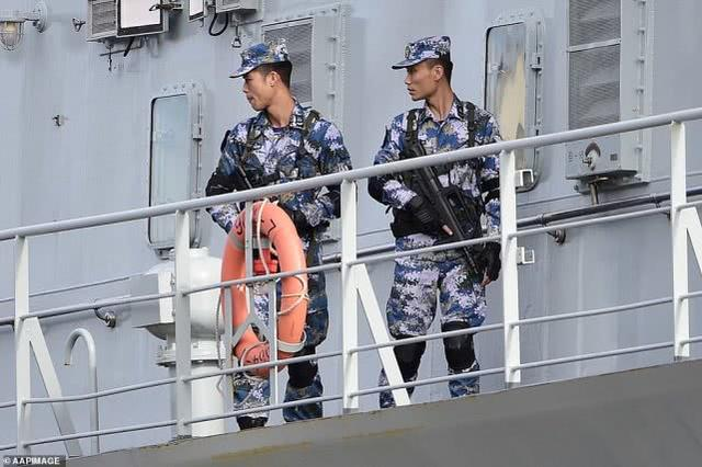 """三艘中国军舰""""突访""""悉尼令媒体吃惊,澳总理:正常回访 中国海军军舰,三艘,中国,军舰 第7张图片"""