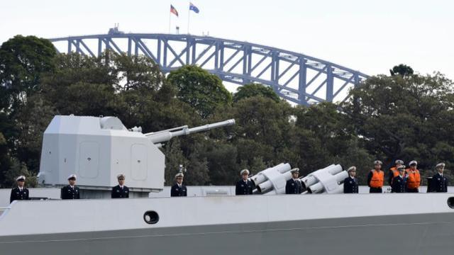"""三艘中国军舰""""突访""""悉尼令媒体吃惊,澳总理:正常回访 中国海军军舰,三艘,中国,军舰 第8张图片"""