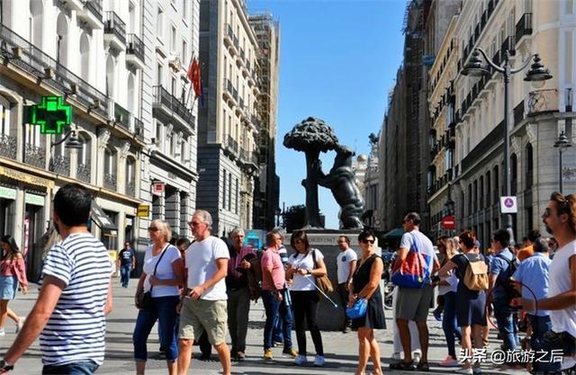 你去过西班牙的太阳门广场吗?在西班牙条条大路通向太阳门 ... 发现,太阳,马德里,去过,西班牙 第2张图片