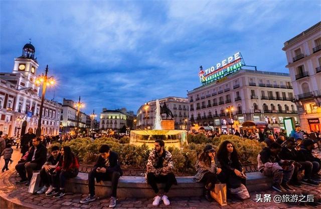 你去过西班牙的太阳门广场吗?在西班牙条条大路通向太阳门 ... 发现,太阳,马德里,去过,西班牙 第4张图片