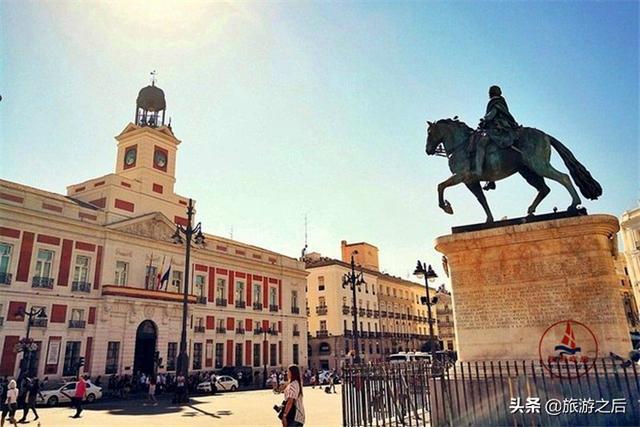 你去过西班牙的太阳门广场吗?在西班牙条条大路通向太阳门 ... 发现,太阳,马德里,去过,西班牙 第3张图片