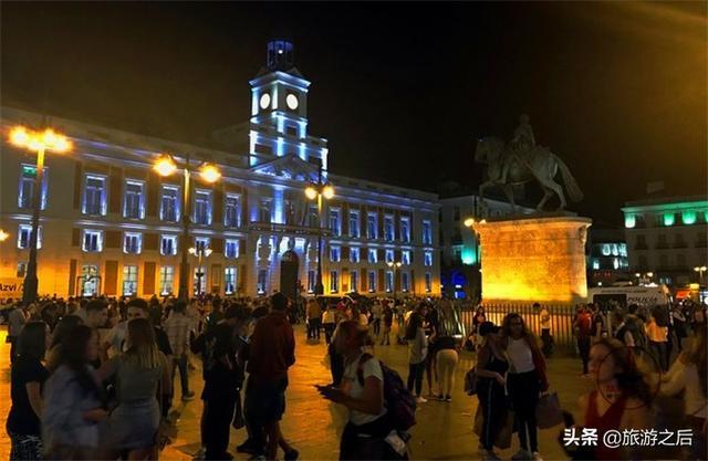 你去过西班牙的太阳门广场吗?在西班牙条条大路通向太阳门 ... 发现,太阳,马德里,去过,西班牙 第7张图片