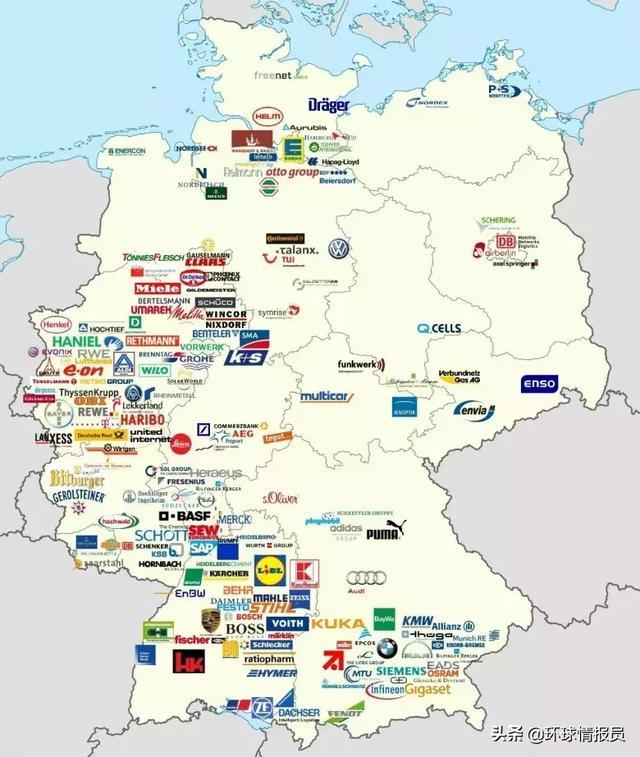 作为欧洲经济第一强国,德国为何没有伦敦、巴黎那样的超级都市? ... 发现,伯明翰,马赛,作为,欧洲经济 第19张图片
