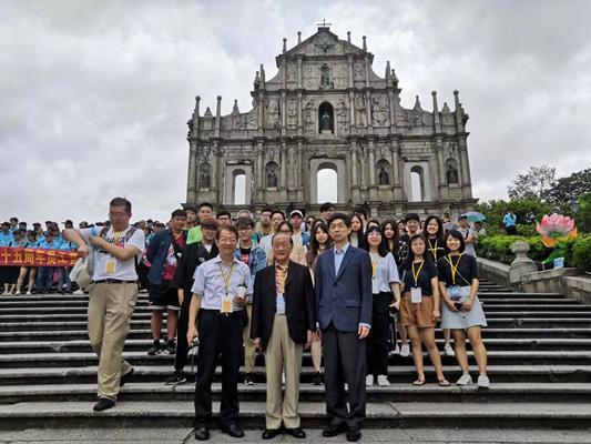 新党主席郁慕明率台湾青年体验澳门安定繁荣 主席,来源,一国两制,新党,郁慕明 第1张图片