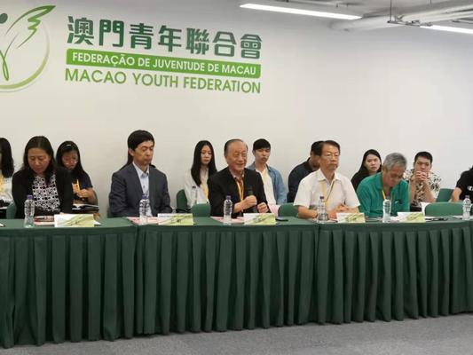 新党主席郁慕明率台湾青年体验澳门安定繁荣 主席,来源,一国两制,新党,郁慕明 第2张图片