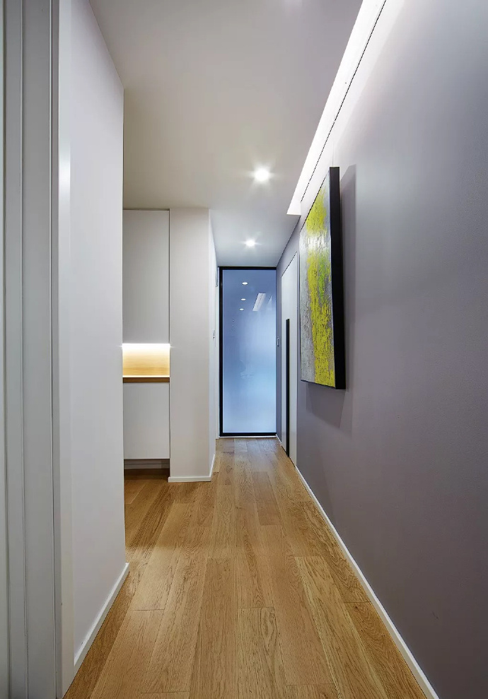 89㎡简约现代风格家居装修,自然木色总是能让空间变得休闲舒适 ... 舒适,家居装修,现代风格,自然,总是 第1张图片
