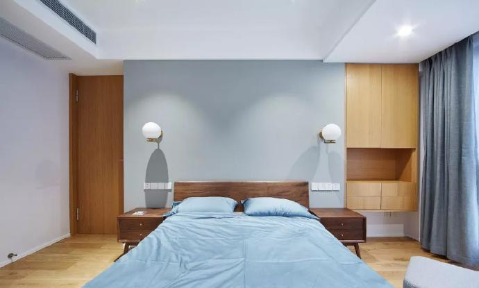 89㎡简约现代风格家居装修,自然木色总是能让空间变得休闲舒适 ... 舒适,家居装修,现代风格,自然,总是 第7张图片