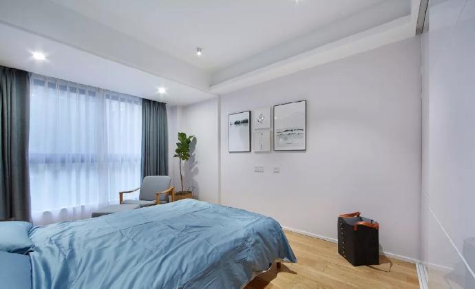89㎡简约现代风格家居装修,自然木色总是能让空间变得休闲舒适 ... 舒适,家居装修,现代风格,自然,总是 第8张图片