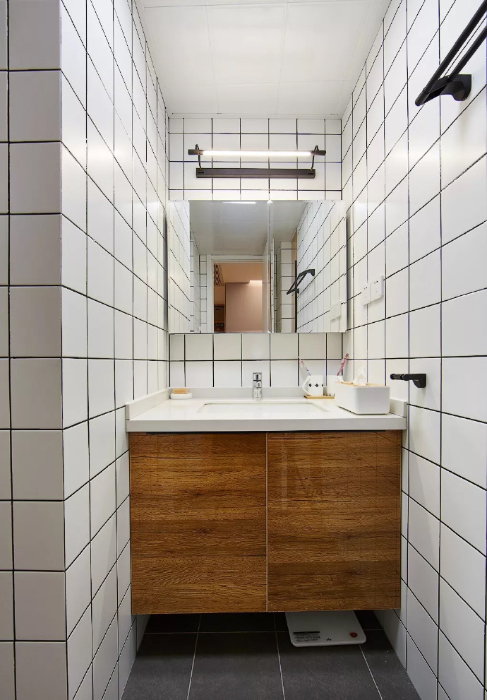 89㎡简约现代风格家居装修,自然木色总是能让空间变得休闲舒适 ... 舒适,家居装修,现代风格,自然,总是 第9张图片